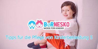 5 Tipps für die Pflege von Kinderbekleidung